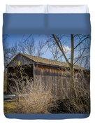 Jediah Hill Covered Bridge Duvet Cover