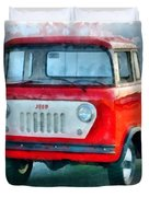 Jeep 1959 Fc150 Forward Control Pickup Duvet Cover