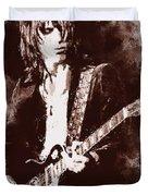 Jeff Beck - 01 Duvet Cover