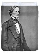 Jefferson Davis Duvet Cover by American Photographer