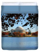 Jefferson In Splendor Duvet Cover