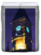 Jefferson Market Clock Tower Duvet Cover