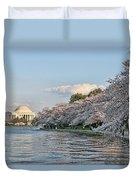 Jefferson Memorial # 4 Duvet Cover