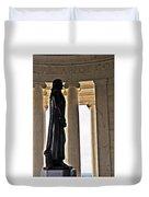 Jefferson Memorial 1  Duvet Cover