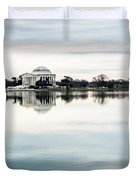 Jefferson Memorial And Tidal Basin Duvet Cover