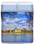 Jefferson Memorial Duvet Cover