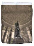 Jefferson Memorial Duvet Cover