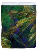 Jelly Fish  Diving The Reef Series 1 Duvet Cover