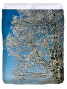 Jenne Farm Winter In Vermont Duvet Cover