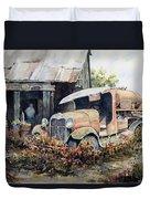 Jeromes Tank Truck Duvet Cover