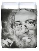Jerry Garcia Duvet Cover by Don Medina