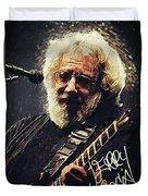 Jerry Garcia Duvet Cover