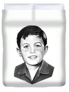 Jerry Mathers-as The Beaver-murphy Elliott Duvet Cover