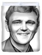 Jerry Reed Duvet Cover