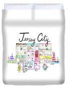 Jersey City Duvet Cover