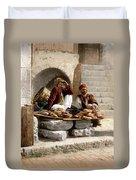 Jerusalem - Bread Seller Duvet Cover