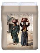 Jerusalem - Milk Seller Duvet Cover