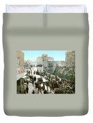 Jerusalem: Bazaar, C1900 Duvet Cover