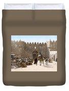 Jerusalem: Caravan, C1919 Duvet Cover
