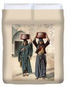 Jerusalem: Milk Seller Duvet Cover