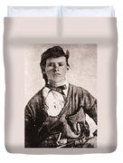 Jesse James (1847-1882) Duvet Cover