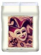 Jester Mask Duvet Cover