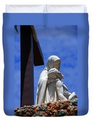 Jesus And Maria Duvet Cover