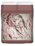 Jesus Crucified Duvet Cover