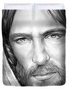 Jesus Face Duvet Cover