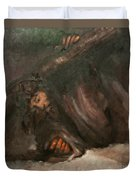 Jesus Falls The Second Time Duvet Cover