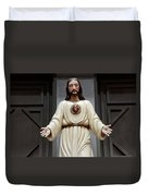 Jesus Figure Duvet Cover