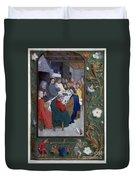 Jesus: Last Supper Duvet Cover