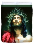 Jesus Of Nazareth Duvet Cover