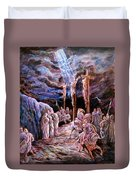 Jesus On The Cross Duvet Cover
