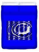 Jet Blue Duvet Cover