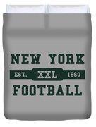 Jets Retro Shirt Duvet Cover