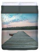 Jetty Sunset Duvet Cover