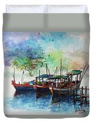 Jetty_01 Duvet Cover