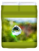 Jewel Hanging Outdoors  Duvet Cover