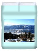 Jewel Of The Okanagan Duvet Cover by Will Borden