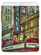 Jewel Of The South Tivoli Chattanooga Historic Theater Art Duvet Cover