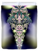 Jeweled Icicle Fractal 136 Duvet Cover