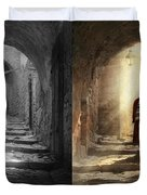 Jewish - Evening Prayers 1934 - Side By Side Duvet Cover