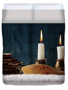 Jewish Holiday Symbol, Jewish Food Passover Jewish Passover Duvet Cover