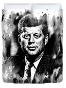 JFK Duvet Cover