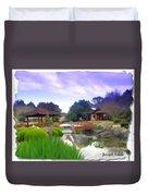 Jg-0021 Kotaji Lantern Duvet Cover