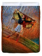 Jill Heron Magical Carpet Duvet Cover