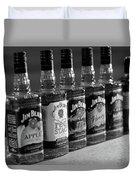 Jim Beam Bottles Duvet Cover