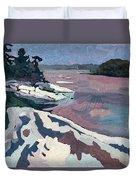 Jim Day Winter Duvet Cover