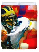 Jim Harbaugh  I Guarantee Duvet Cover
